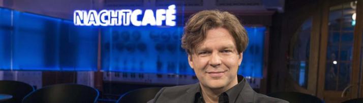 Michael Steinbrecher bei der ersten Aufzeichnung des Nachtcafé.jpg